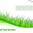 Grass wave background — Stock Vector