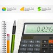 Calculator — Vettoriale Stock #39515031