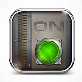 On switch button — Vecteur