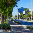 Stock Photo: View of street, Limassol, Cyprus
