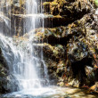 A view of a waterfall - Stock Photo