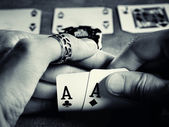 Pair of aces — Stockfoto