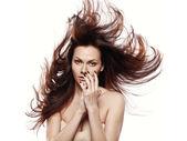 Nude beauty model — Stock Photo