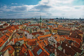Aerial view of the old town of Munich — Stock Photo