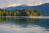 Landscapes of Austrian lakes - st.Wolfgang — Stock Photo