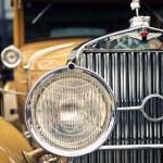 A view of retro car — Stock Photo