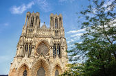 Notre-Dame at Reims  — Stock Photo