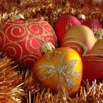 Heart Christmas Ornaments — Stock Photo #1191428