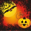 Vector halloween background — Stock Vector #12056583