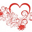 Royalty-Free Stock Immagine Vettoriale: Heart with floral ornament
