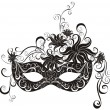 Stock Vector: Masks for masquerade