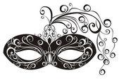 Masks for a masquerade — Stock Vector