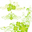 Stock Vector: Shamrock for St.Patricks Day. Vector St. Patricks elements