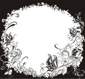 Dekoratif grunge arka plan — Stok Vektör