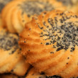 Cookies, close up - Stock Photo