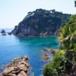 Stock Photo: CostBravlandscape. Blanes, Catalonia, Spain