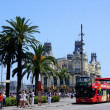 Barcelona Bus Touristic - Stock Photo