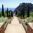 Botanic garden in Blanes, Catalonia, Spain — Stock Photo #16873109