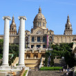 Stock Photo: National Museum in Placa De Espanya, Barcelona. Spain
