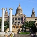 National Museum in Placa De Espanya, Barcelona. Spain — Stock Photo