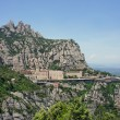 Montserrat Monastery high up in the mountains near Barcelona — Stock Photo #16873233