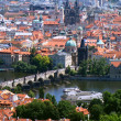 Panoramatic view in Prague — Stock Photo #16945209