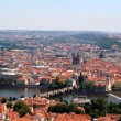 Panoramatic view in Prague — Stock Photo #16945211