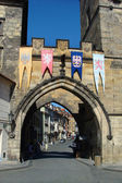 Lesser Town Bridge Tower of Charles Bridge in Prague — Stock Photo
