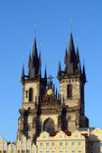 Church of our lady before Tyn. Prague — Stock Photo