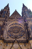 St. Vitus gothic cathedral in Prague, Czech Republic — Stock Photo