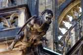 St. vitus gotik katedrali prag parçası — Stok fotoğraf
