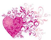 Vector tarjetas de san valentín corazones — Vector de stock