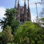 La Sagrada Familia in Barcelona, Spain — Stock Photo #25601227