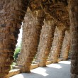 Columns in Park Guell, Barcelona, Spain — Stock Photo #25601321