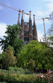La Sagrada Familia in Barcelona, Spain — Stock Photo