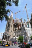 La Sagrada Familia, designed by Antoni Gaudi — Stock Photo