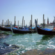 Gondola in Grand canal  Venice, Italy. — Stock Photo