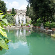 Fountains of Villa d Este, Tivoli, Italy, near Rome — Stock Photo