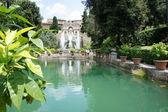 Fountains of Villa d Este, Tivoli, Italy, near Rome — Stock Photo