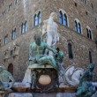 Fountain of Neptune on Piazza della Signoria, Florence, Italy — Stock Photo #28696239