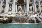 Trevi Fountain in Rome, Italy — Stock Photo