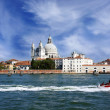 Grand Canal and Basilica Santa Maria della Salute, Venice, Italy — Stock Photo #30302991