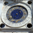 Astronomical clock at San Marco Square in Venice, Italy — Stock Photo