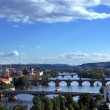Stock Photo: View on Prague Bridges