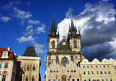 Church of our Lady in Old Town Square, Prague — Stock Photo