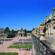 Zwinger - palace in Dresden, Germany — Stock Photo #32755273