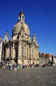 The Dresden Frauenkirche (Church of Our Lady) - Lutheran church — Stockfoto