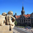 Royal Palace in Dresden, Germany — Stock Photo