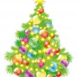 Christmas tree — Vector de stock #34942469
