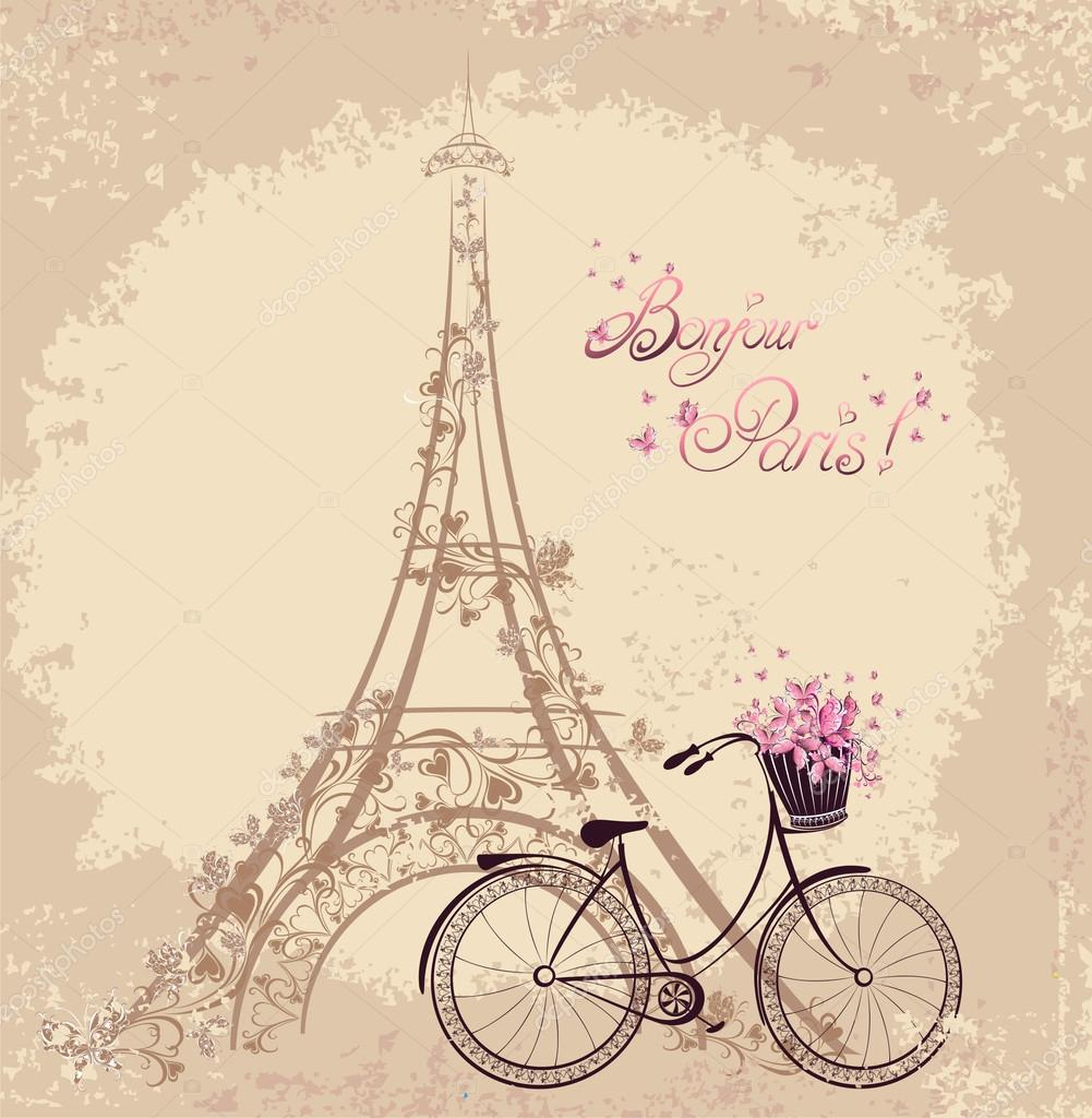 e bicicleta com: